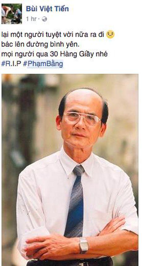 Nghe si Pham Bang qua doi: Khan gia Viet xot thuong nghen ngao - Anh 8