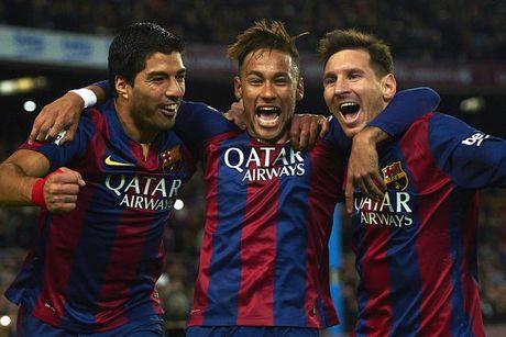 Suarez suyt bi Neymar 'tan' vi... choi ky - Anh 2