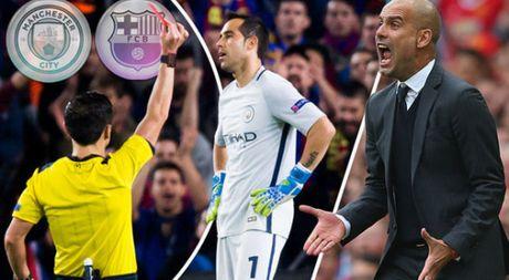 Pep Guardiola lo so nan the do - Anh 1