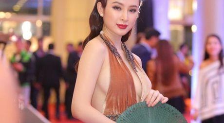 Angela Phuong Trinh sexy du Lien hoan phim quoc te Ha Noi - Anh 1