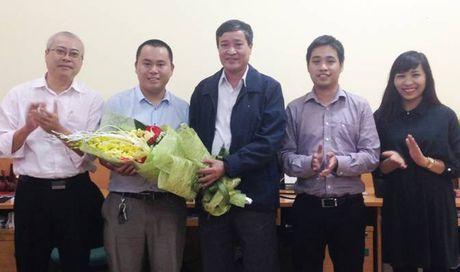 Bao Xay dung bo nhiem Pho Truong ban Dien tu xay dung - Anh 1