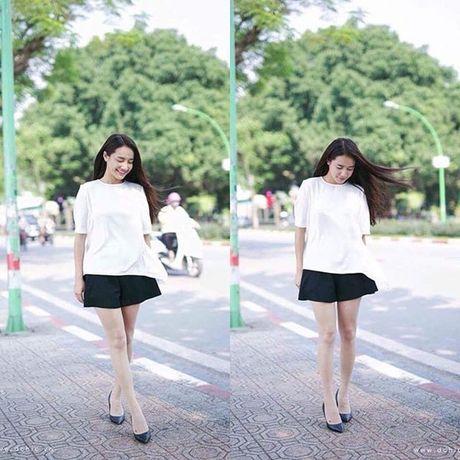 Minh Hang chat lu, Chung Huyen Thanh khoe chan dai sexy - Anh 13