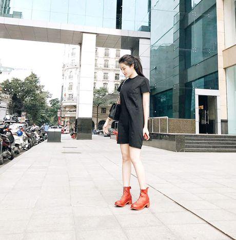 Minh Hang chat lu, Chung Huyen Thanh khoe chan dai sexy - Anh 3