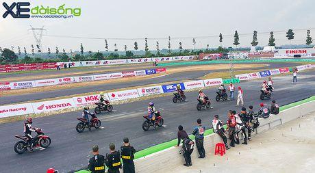Honda ho tro giac mo the thao dua xe tai Viet Nam bang giai dua chuyen nghiep - Anh 5
