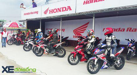 Honda ho tro giac mo the thao dua xe tai Viet Nam bang giai dua chuyen nghiep - Anh 7
