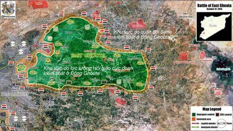 Ve binh Syria don phien quan vao chao lua ngoai o Damascus - Anh 1