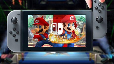 May choi game Nintendo Switch trang bi RAM 4GB - Anh 1