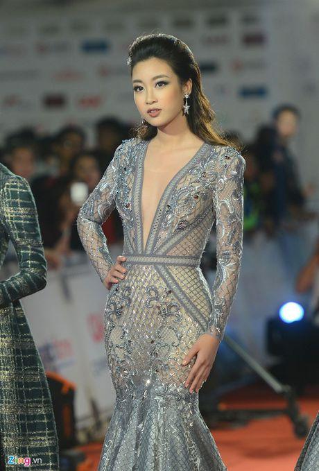 Top 3 Hoa hau dot chay tham do LHP Quoc te Ha Noi voi vay ao xuyen thau - Anh 3