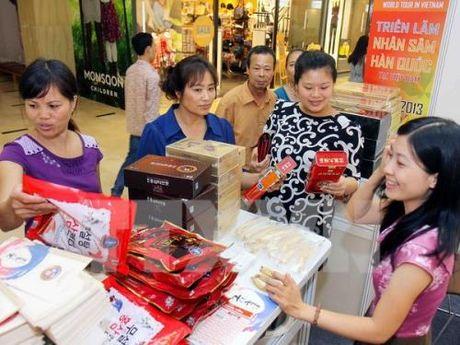 Viet Nam nhap khau nhan sam Han Quoc lon nhat trong ASEAN - Anh 1
