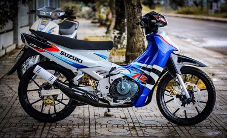 Suzuki Satria 2000 do ngau cua dan choi Sai Gon - Anh 2