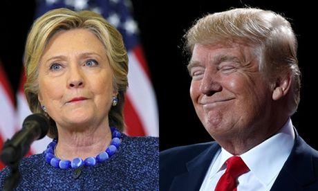 Trump thu hep khoang cach sau khi FBI tiep tuc dieu tra email Clinton - Anh 1
