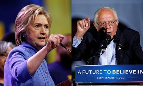 Clinton bi nghi biet cau hoi truoc khi tranh luan voi doi thu - Anh 2