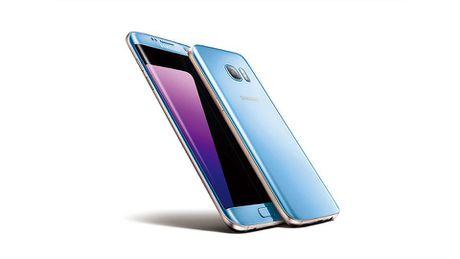 Samsung Galaxy S7 Edge them mau xanh san ho - Anh 1