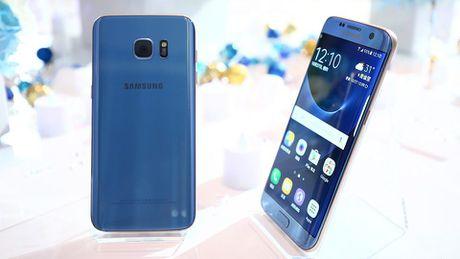 Samsung Galaxy S7 Edge them mau xanh san ho - Anh 4