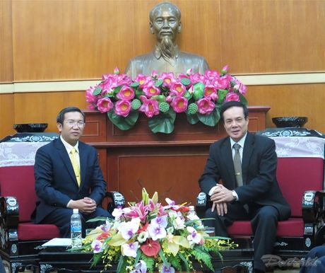 Giao hoi Bap - Tit Viet Nam tham UBTU MTTQ Viet Nam - Anh 1