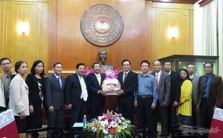 Giao hoi Bap - Tit Viet Nam tham UBTU MTTQ Viet Nam - Anh 2