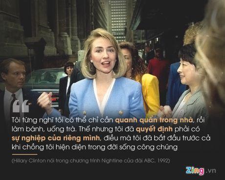 Hillary Clinton: Hanh trinh nua the ky cua nu quyen - Anh 6