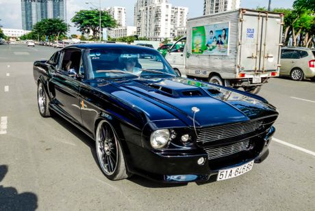 Ford Mustang 'Eleanor' do doc nhat tai Sai Gon - Anh 1