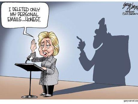Be boi thu dien tu de doa ba Clinton - Anh 1