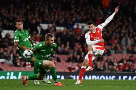 Nhan dinh, du doan ket qua ty so tran Ludogorets - Arsenal - Anh 1