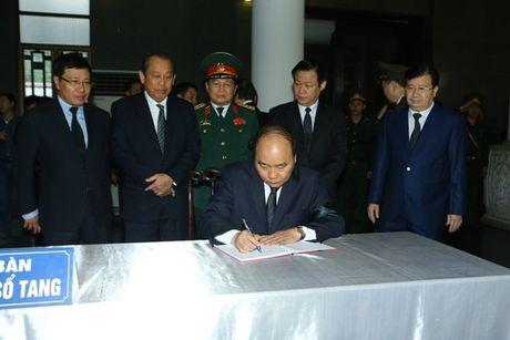 Lanh dao Dang, Nha nuoc vieng nguyen PCT Quoc hoi Truong Quang Duoc - Anh 6