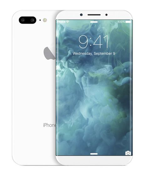 He lo hinh anh iPhone8: Cong tran canh, nut home duoi man hinh - Anh 9