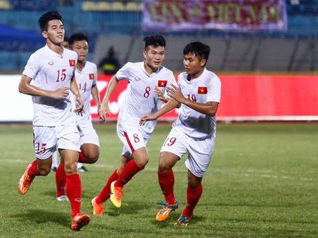 U19 Viet Nam 'vinh quy' - Anh 1