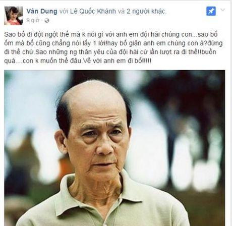 Mat NSUT Pham Bang, mot su thieu vang lon lao! - Anh 2