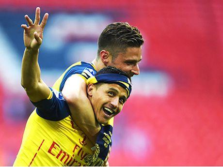 Hang cong Arsenal: Du Giroud tro lai, Sanchez van la mui nhon - Anh 1