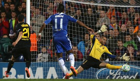 Barca va nhung lan 'om han' tren dat Anh o Champions League - Anh 2