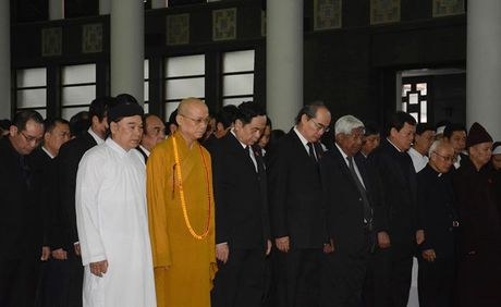 Hinh anh: Lanh dao Dang, Nha nuoc vieng ong Truong Quang Duoc - Anh 12