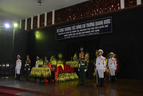 Hinh anh: Lanh dao Dang, Nha nuoc vieng ong Truong Quang Duoc - Anh 1