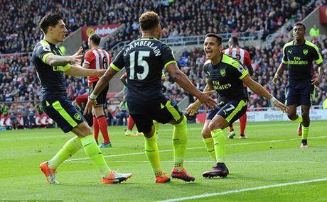 Arsenal va 'dop' ve nhi o vong bang Champions League - Anh 1