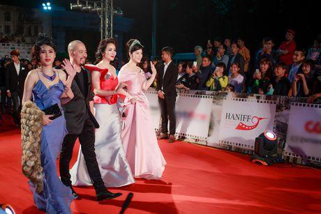 Sao Viet ruc ro tren tham do Lien hoan phim quoc te Ha Noi - Anh 2