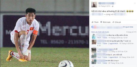 Chan dung nguoi yeu xinh nhu mong cua doi truong U19 - Anh 3