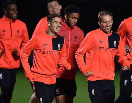 Liverpool van miet mai tap luyen du troi sap toi - Anh 2