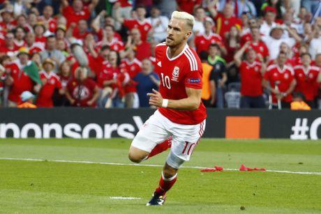 Ramsey lan dau tro lai DTQG sau EURO 2016 - Anh 1