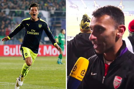 Che Oezil, Alan Shearer bi CDV Arsenal 'nem da' - Anh 1