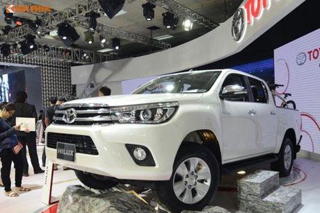 Toyota Viet Nam 'chot gia' Hilux 2016 tu 697 trieu dong - Anh 11