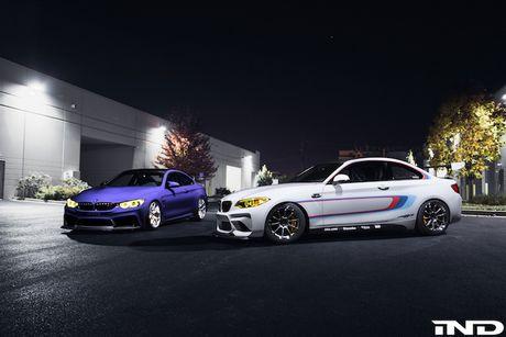 BMW M2 va M4 Coupe 'hang thua' do bo trien lam SEMA - Anh 3
