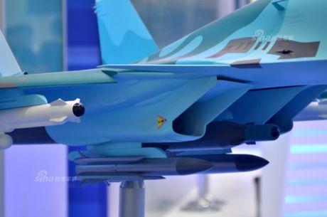 Lo dien hinh dang may bay tiem kich-bom Su-32 - Anh 5