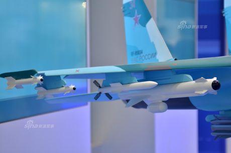 Lo dien hinh dang may bay tiem kich-bom Su-32 - Anh 6