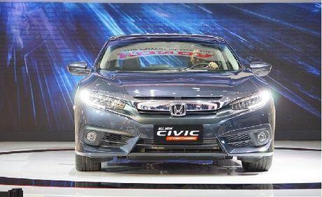 Honda Civic 2017 tai Viet Nam khong loi phanh - Anh 2