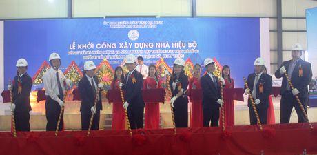 Khoi cong xay dung nha hieu bo Truong Dai hoc Ha Tinh - Anh 1