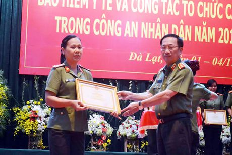 Tap huan cong tac chinh sach trong CAND - Anh 1