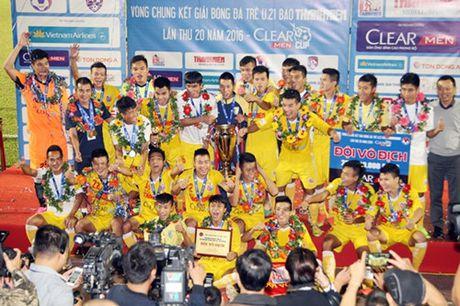 Ha Noi T&T lan dau tien bao ve thanh cong ngoi vo dich U.21 Bao Thanh Nien - Anh 12