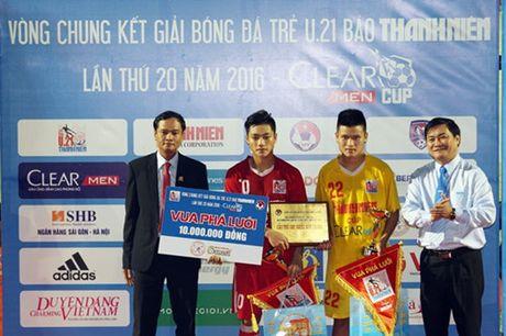 Ha Noi T&T lan dau tien bao ve thanh cong ngoi vo dich U.21 Bao Thanh Nien - Anh 14
