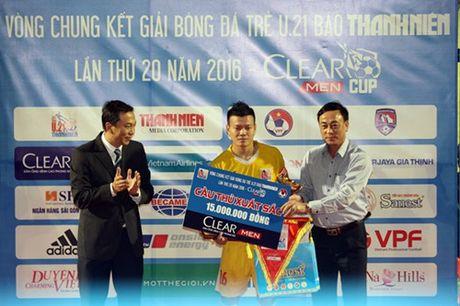 Ha Noi T&T lan dau tien bao ve thanh cong ngoi vo dich U.21 Bao Thanh Nien - Anh 16