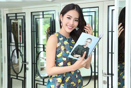 "Nam Em lam viec ""khong kip tho"" sau Hoa hau Trai Dat - Anh 6"