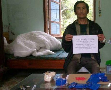 Bat doi tuong van chuyen ma tuy tu Lao ve Viet Nam - Anh 1